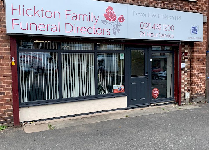 Hickton Family Funeral Directors (Bartley Green)